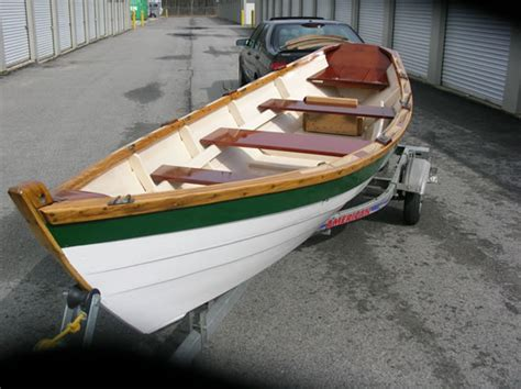 Dory Rowboat by Lowell Dory Ladyben Classic Wooden Boats For Sale