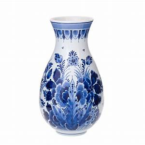 Royal, Delft, Vase, -, 20, Cm