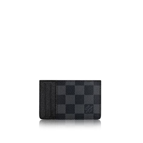 neo porte cartes damier graphite canvas small leather goods louis vuitton