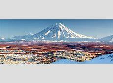 Les volcans du Kamtchatka Sibérie Russie
