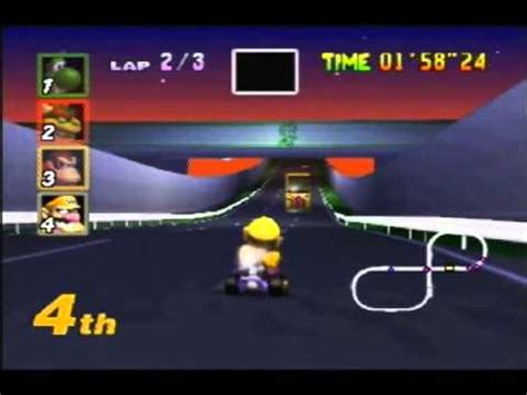 mario kart 64 playthrough mode toads turnpike