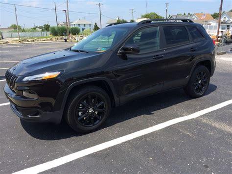 jeep cherokee trailhawk black rims brilliant black jeep cherokee picture thread page 12
