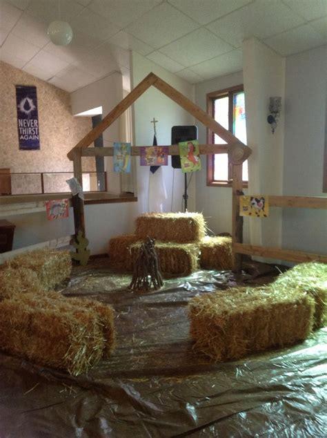 Vbs Decorations - best 25 barnyard vbs crafts ideas on farm vbs