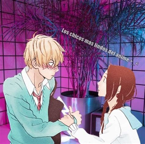 Los Chicos Mas Lindos Del Anime >