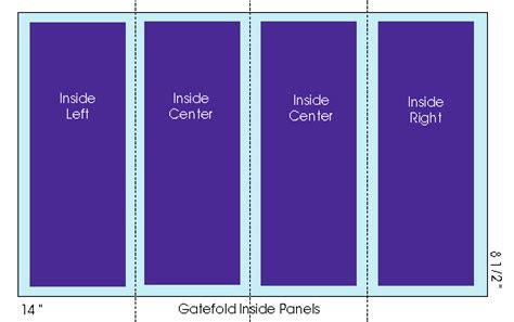 8 Panel Brochure Template 85 X 11 Gate Fold Tri 5 Panel Brochure Template Njswestcom Z Fold Brochure