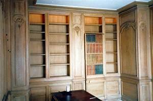 Bibliothèque Avec Porte : porte d rob e dans une biblioth que ~ Teatrodelosmanantiales.com Idées de Décoration