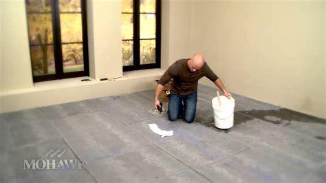 mohawk ceramic tile installation  chip wade youtube