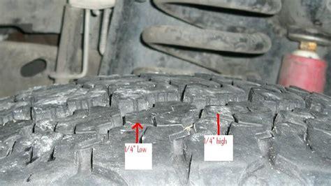 strange tire wear pattern ford powerstroke diesel forum