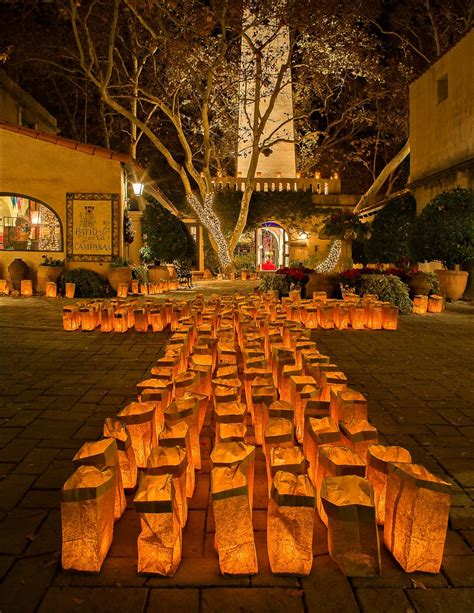 Sedona Festival Of Lights At Tlaquepaque Village Annual