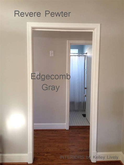 benjamin edgecomb gray vs revere pewter