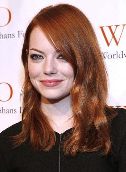 Emma Stone Interview On Red Hair And Revlon Popsugar Beauty
