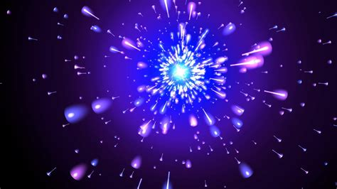 moving background crazy comets vortex  love
