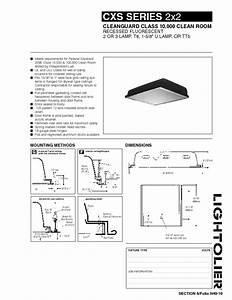 Cleanguard Glass Cxs Series 2x2 Manuals