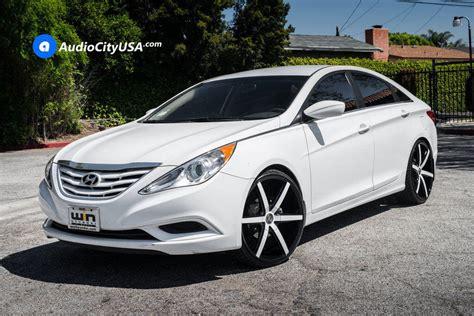 Set your hyundai sonata on the finest chrome rims. 2015 Hyundai Sonata Aftermarket Wheels