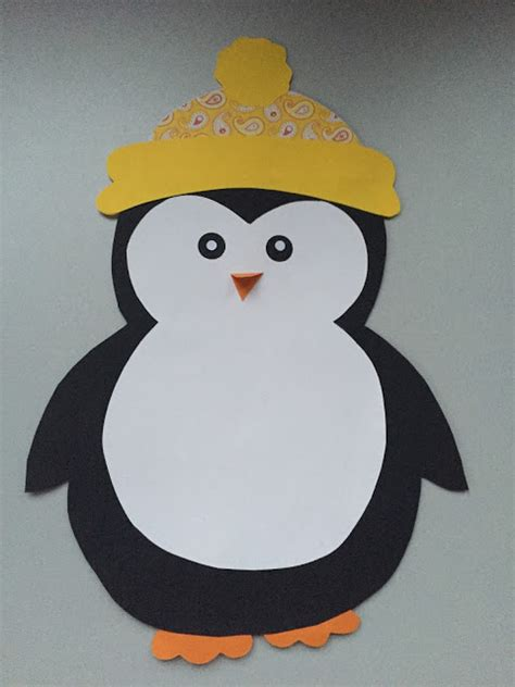 Fensterdeko Weihnachten Groß by Klassenkunst Fensterdeko Pinguin Freebie