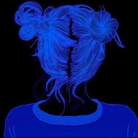 blue anime aesthetic