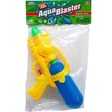 48 of water gun in poly bag with header distributor