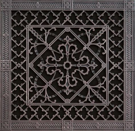 decorative grille 18x18 arts and crafts style beaux