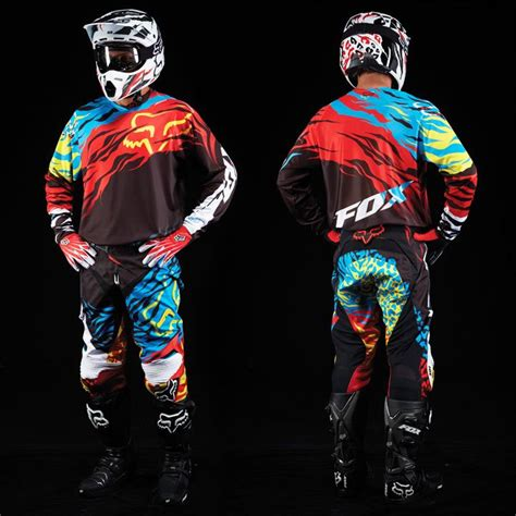 fox motocross gear fox racing 2014 360 forzaken gear set threads
