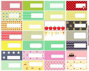 free printable pattern tags and labels ausdruckbare With name labels for letters
