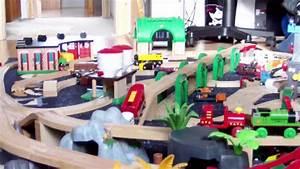 Brio Eisenbahn Schienen : brio eisenbahn big fun the party brio wooden railway system hd youtube ~ Orissabook.com Haus und Dekorationen