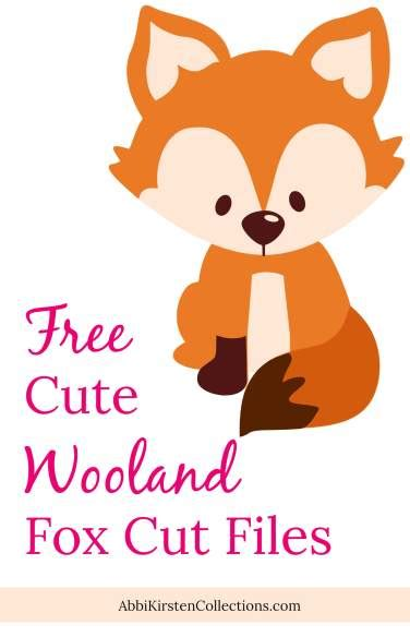 › 13 svg fox icons for free download. Free Fox SVG Cut File: Cute Woodland Animal SVG Cut Files