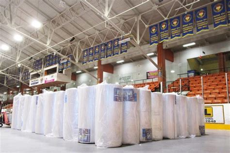 asbestos removal stalls roofing job  trail arena trail