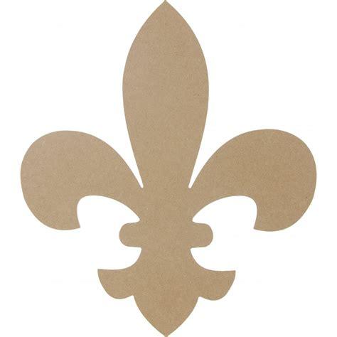 wooden fleur de lis shape 16 quot ab2231 mardigrasoutlet com