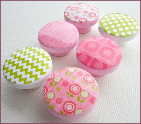 pink chevron dresser knobs flower knobs chevron knobs drawer pulls pink flower