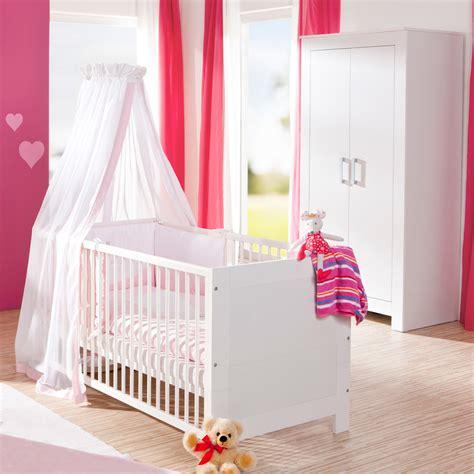 chambre complete de bébé chambre bébé complète lit armoire marlène blanc de