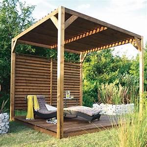 Tonnelle Pour Balcon : 7 riens pour 1 jardin 3 de l 39 ombre red hot chili ~ Premium-room.com Idées de Décoration