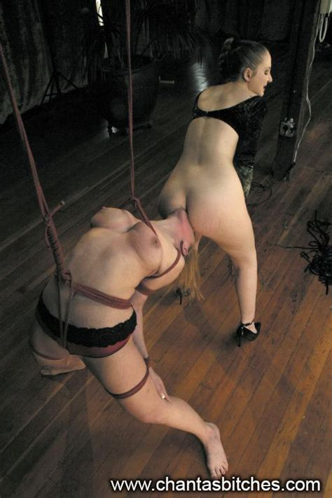 Tied Up Double Penetration