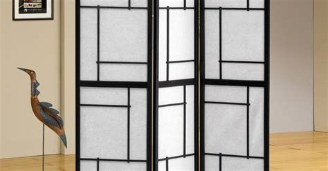Panel Butterfly Folding Screen Room Divider With Rice