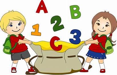 Kindergarten Clip Clipart Alphabet Children