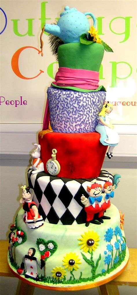Maybe you would like to learn more about one of these? Alice in Wonderland   Cupcake cakes, Wedding cakes, Cake