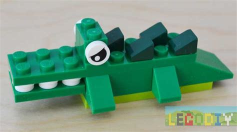 Little Lego Crocodile From 10696