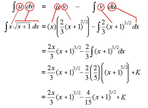 7 Integration By Parts