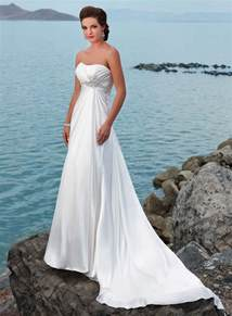 strapless beach wedding dresses images amp pictures becuo