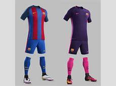 GIGANTES DE ESPAÑA Los uniformes del Real Madrid y FC