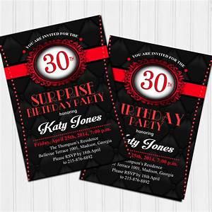 Pappteller 30 Geburtstag : 30 geburtstag einladung 30 geburtstag geburstag einladungskarten geburstag ~ Markanthonyermac.com Haus und Dekorationen