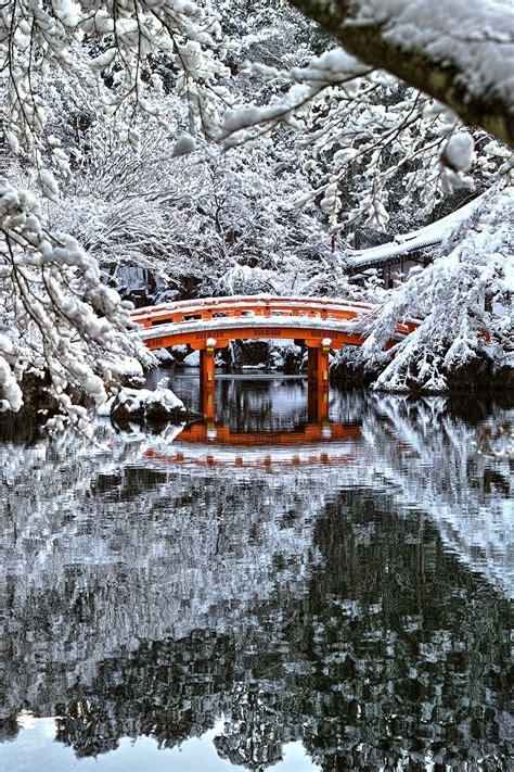 crimson  white daigoji kyoto japan  azul obscura