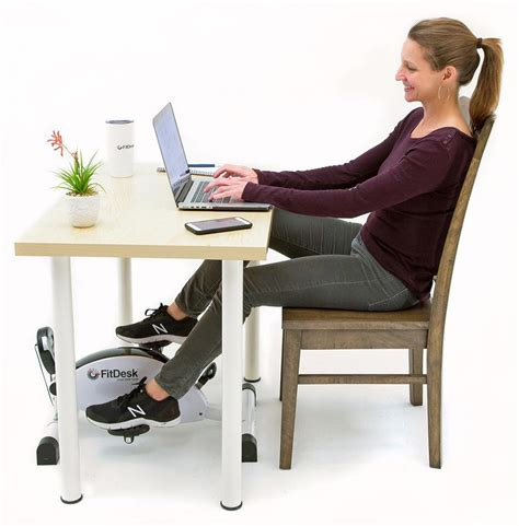 Desk Fit by Fitdesk Desk Cycle And Exercise Bike