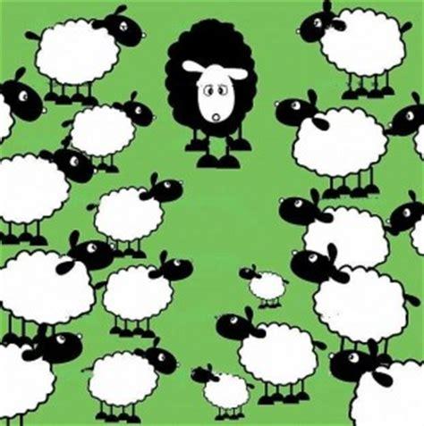 Obraz znaleziony dla: black sheep cartoon picture
