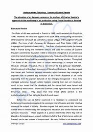 Best Literature Review Example Ideas And Images On Bing Find