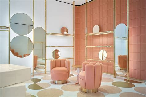 is the pink furniture trend here to stay