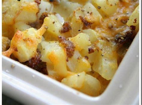 cheesy casserole recipe cheesy potato breakfast casserole recipe dishmaps