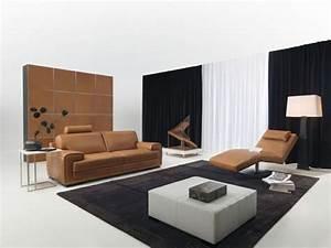 Schwarz Braune Möbel : wohnzimmer gestalten braune m bel ~ Michelbontemps.com Haus und Dekorationen