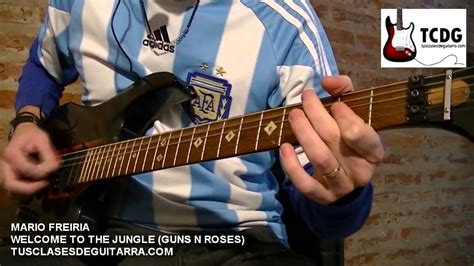 Welcome To The Jungle Guitar Cover Guns N Roses