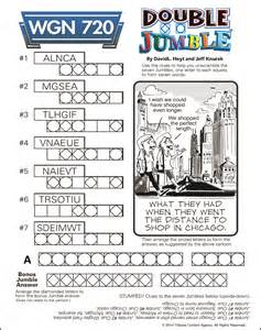 Daily Jumble Word Puzzle