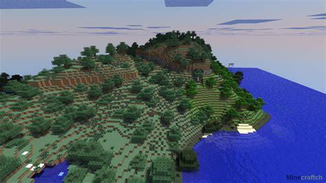 Мод на генерацию мира в Minecraft (alternate Terrain